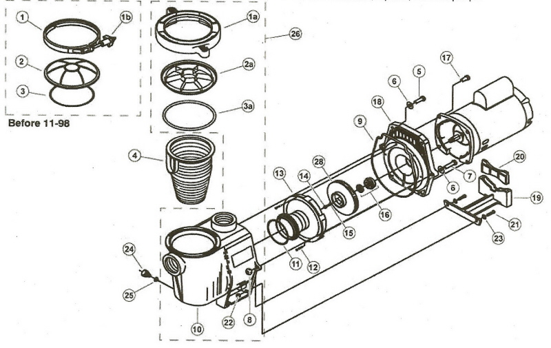 jacuzzi tub parts